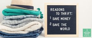 Five Reasons Thrifting Is Good for the Environment